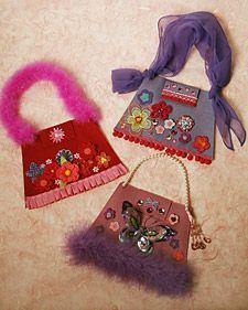 decorate a purse craft