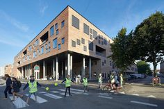 Frederiksbjerg Школа Хеннинга Ларсена архитекторов |  Школы