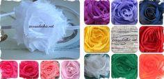 Shabby Chic Headband/Clip - Great Stocking Stuffers! 13 Colors! at VeryJane.com