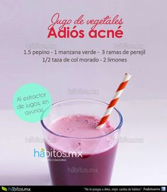 Free Presentation Reveals 1 Unusual Tip to Eliminate Your Acne Forever and Gain Beautiful Clear Skin In Days - Guaranteed! Healthy Juices, Healthy Smoothies, Healthy Drinks, Healthy Tips, Smoothie Recipes, Healthy Recipes, Healthy Food, Home Remedies For Pimples, Acne Remedies