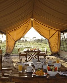 Luxury Safari Lodges in Tanzania: andBeyond Serengeti Under Canvas, Tanzania - Luxury. - Luxury Safari Lodges in Tanzania: andBeyond Serengeti Under Canvas, Tanzania – Luxury Safari Lodges in Tanzania: andBeyond Serengeti Under Canvas, Tanzania – - Glamping, The Places Youll Go, Places To Go, British Colonial, British Style, African Safari, Bungalows, Africa Travel, The Ranch