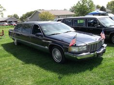 1996 Cadillac Fleetwood limousine