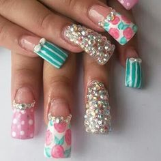 9 Best Unas De Novia Images Nail Art Bride Nails Cute Nails