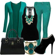 Like the color green