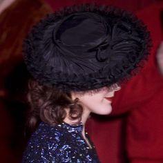 1940s pancake hat.