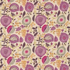 Sanderson - Traditional to contemporary, high quality designer fabrics and wallpapers | Products | British/UK Fabric and Wallpapers | Peas & Pods (DSOH225359) | Sojourn Prints & Embroideries