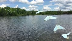 Welcome to Gabriel Atanbiyi Blog: Aquatic Fixed-Wing Drone Could Lake-Hop Across Can...