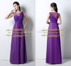 Purple Color Charming Style Evening Dresses 2016 New Arrival A-Line Sleeveless Prom Dress 100% Original Real Picture Dress SH029(China (Mainland))