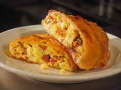 """Born to Run"" Savory Breakfast Hand Pies recipe from Amanda Freitag via Food Network"