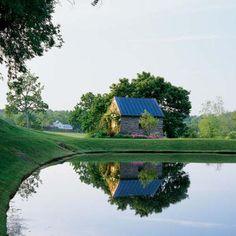 Stoneleigh Farm. via Southern Accents