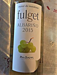 El Alma del Vino.: Adega Maior de Mendoza Fulget Albariño 2015