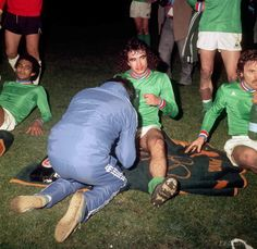 As st etienne 1976 demi finale de la coupe des clubs - Football coupe d europe des clubs champions ...