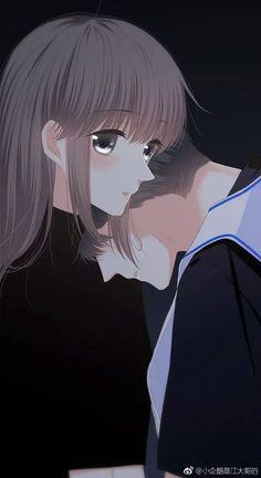 Anime Couples Drawings, Anime Couples Manga, Couple Drawings, Cute Anime Couples, Manga Couple, Anime Love Couple, Couple Cartoon, Anime Cupples, Sad Anime