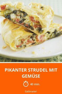 Pikanter Strudel mit Gemüse - smarter - Zeit: 40 Min. | eatsmarter.de