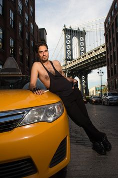 Brace yourselves for a wild ride… | These New York Taxi Drivers Nailed Their Sexiest Poses For A Charity Pin Up Calendar