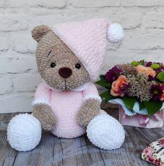 Crochet Teddy Bear Pattern, Crochet Patterns Amigurumi, Crochet Dolls, Cat Amigurumi, Stuffed Animal Patterns, Cute Crochet, Creations, Crafty, Etsy