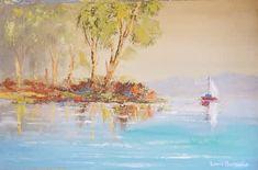 SAILING ALONG Impressionism, South Africa, Sailing, Landscapes, Candle, Paisajes, Scenery, Impressionist