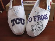 TCU TOMS by Allison Pickett  Available now at alscustomkicks.com!