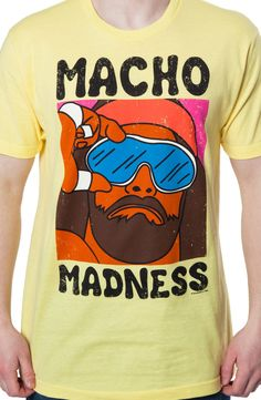 Macho Madness Shirt: 80s TV Wrestling T-shirt