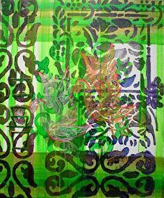 Rizwana A.Mundewadi www.razarts.com  This painting is sold Happiness in Green