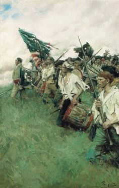 """The Nation Makers"", Howard Pyle, 1903."