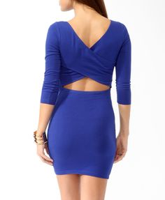 Crisscross Back Bodycon Dress | FOREVER21 - 2000049471