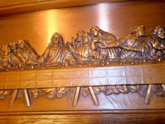 Vintage Plaque The Last Supper pressed Copper by rustyitems, $20.00