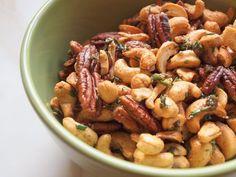Rosemary Nuts & Happy Holidays!