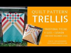 2 minute pinwheel patchwork block - video tutorial - YouTube