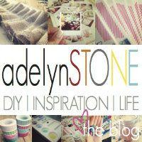 Adelyn Stone DIY blog (some good stuff)