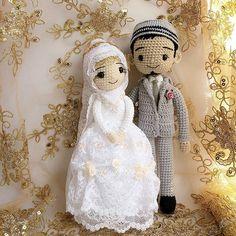 #weddingdress #wedding #amigurumidoll #crochetdoll #crochetoutfit #handcraft #handmade #Happy #love