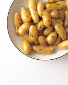 Glazed Fingerling Potatoes Recipe. This recipe pairs well with steak, pork loin, or braised beef.