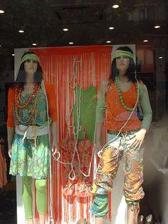 Window shopping in Paris
