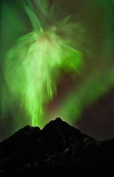 Earth's Blog: Aurora over Tromvik