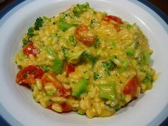 """Rarebit Risotto (""""Moosewood Restaurant Simple Suppers"""")."""