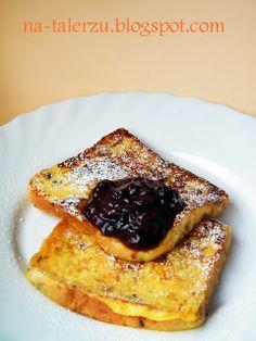 Na talerzu: Francuskie tosty niedzielne