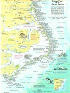 Map Cape Hatteras Google Search