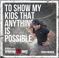 """Fitness Inspiration : Illustration Description What's your reason?im/WHYIRACE """"Sweat is fat crying"""" ! -Read More – Fitness Motivation, Fitness Quotes, Reebok Spartan Race, Spartan Sprint, Spartan Challenge, Spartan Quotes, Whats Your Why, Why I Run, Motivational Quotes"""