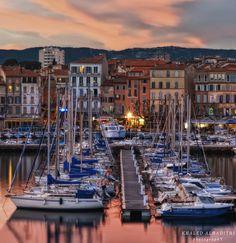 Toulon, France  My grandfather came to America by ship from this port.
