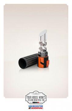 Print ad: Homecenter Sodimac: Tools