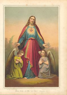Sainte Sophie, Sainte Catherine, Photos Encadrées, Marie Madeleine, Heart Of Jesus, Sacred Heart, Catholic, Cards, Painting