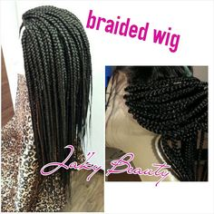 U part wigs braided wigs lace closure wigs full by JKbeautybar