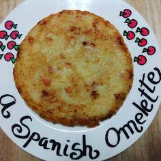 Vegan spanish omelette  #vegan