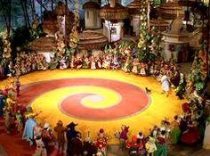 The Yellow Brick Road's spiral origins