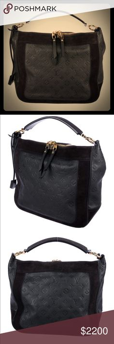 78f9e8a1b33 Louis Vuitton Empreinte Audacious MM Louis Vuitton Empreinte Audacious MM  monogram leather with brass hardware