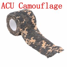 Hot 5cmx4.5m Army Camo Outdoor Hunting Shooting Tool Camouflage Stealth Tape Waterproof Wrap Durable new arrival #clothing,#shoes,#jewelry,#women,#men,#hats,#watches,#belts,#fashion,#style