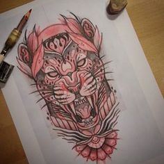 Jaguar sketch.. Stay motivated  #sketch #sketchbook #tattoo #tattoocommunity #drawing #jaguar #donotcopy