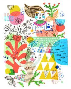 Indie Artist Spotlight: Sarah Walsh of Petit Reve   Jama's Alphabet Soup