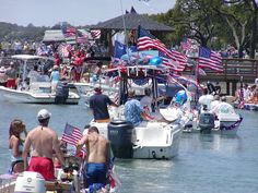 July 4th Boat Parade in Murrells Inlet SC