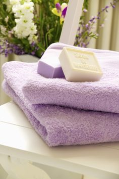 Lavender Bath amenities